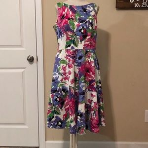 Women's floral dress size 8